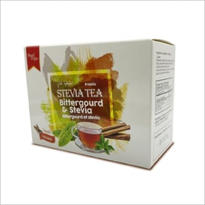 Tea  With Bitter Gourd And Stevia