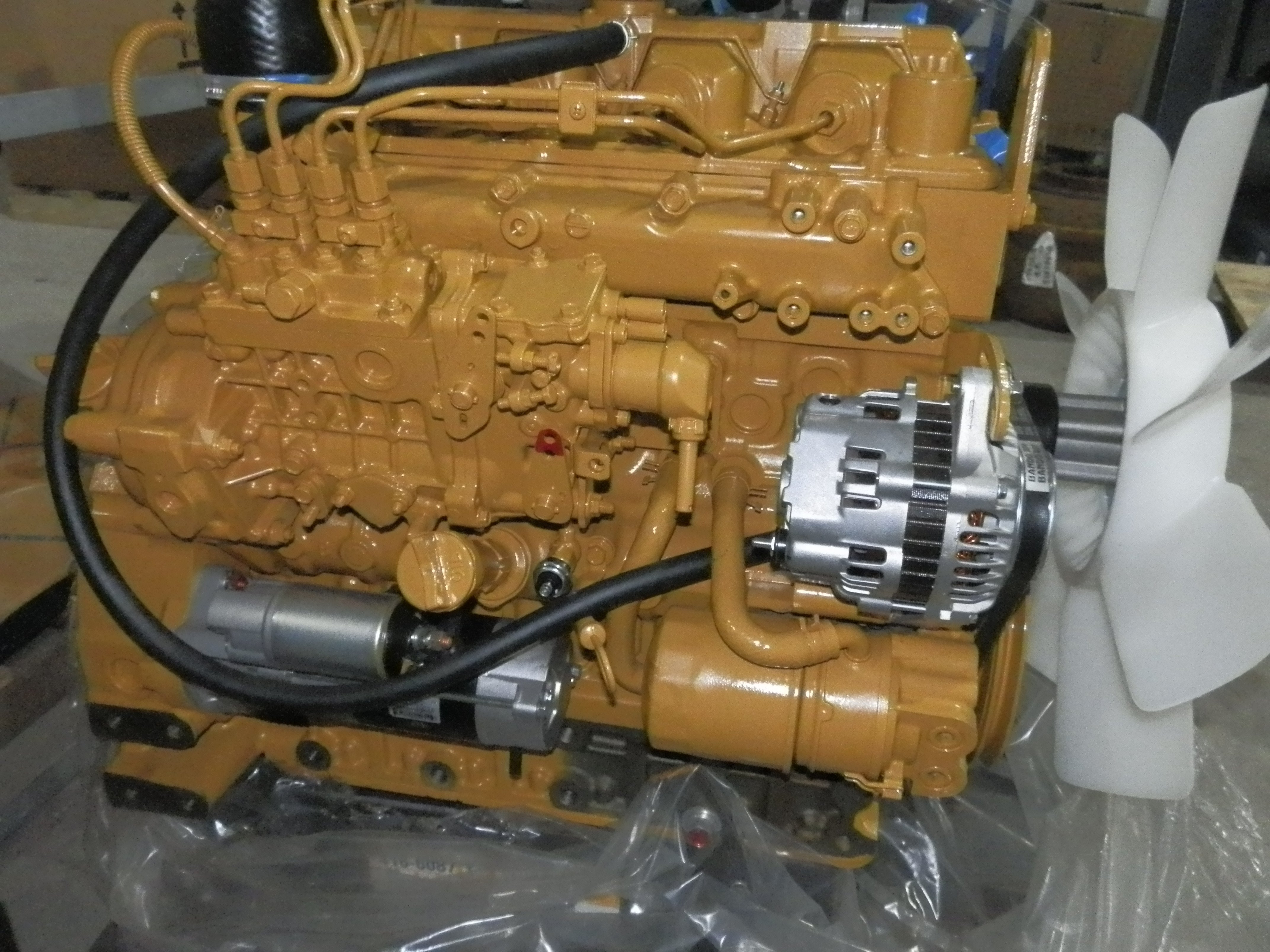 Cat C3.3b Diesel Engine Without Egr 416-6087