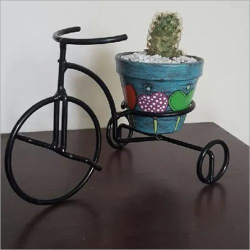 Black Iron Designer Flower Planter