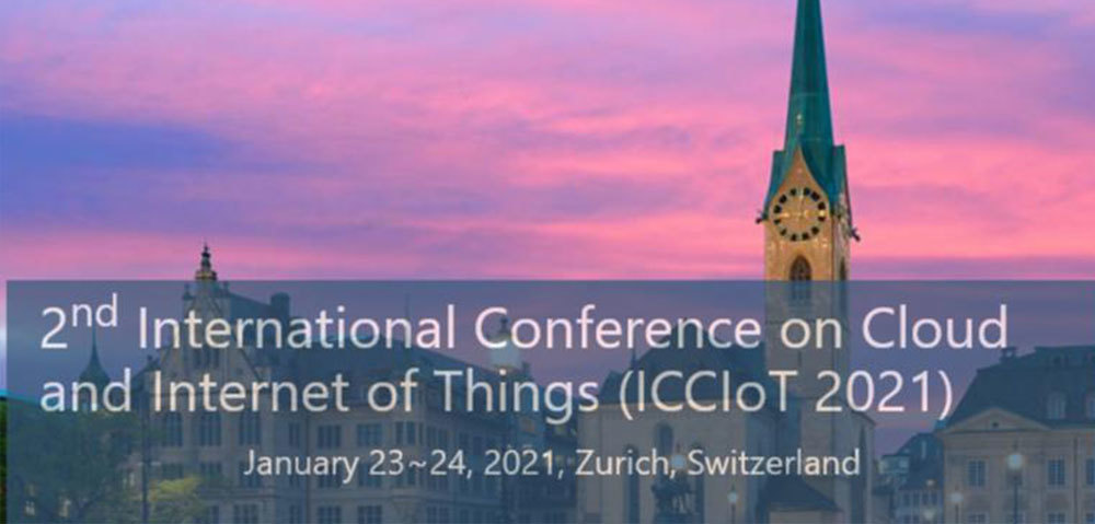 2nd International Conference On Cloud And Internet Of Things (Icciot 2021)