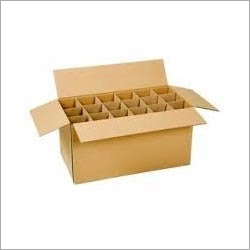 Brown Partition Packaging Box