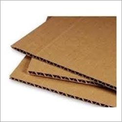 Brown Paper Corrugated Sheet