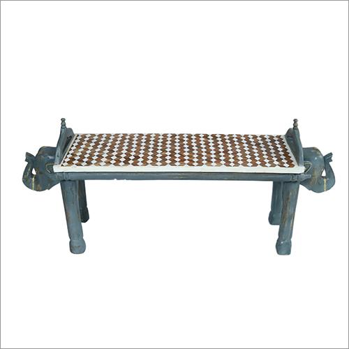 Bone Inlay 2 Seater Table