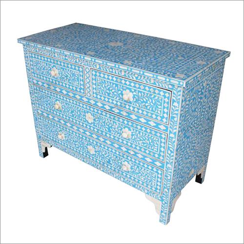 Bone Inlay Sideboard Table