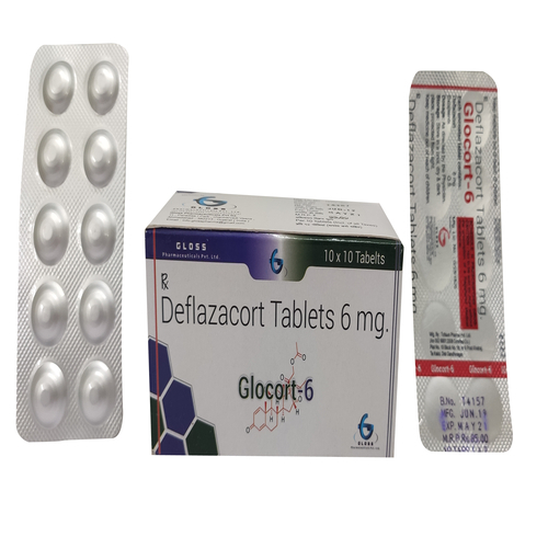 Glocort 6 Deflazacort 6mg Tablets