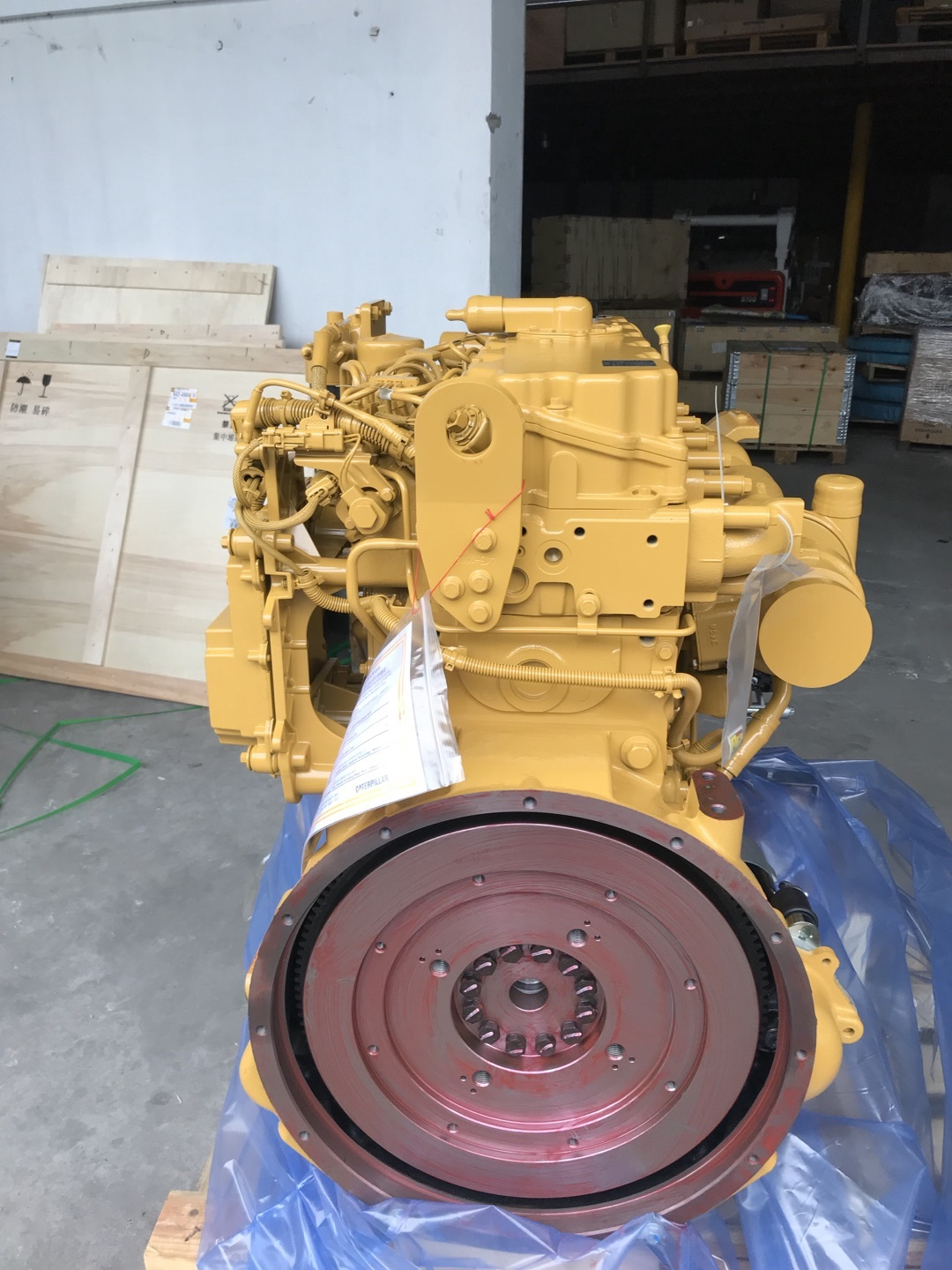 Caterpillar C7.1 Diesel Engine 542-4984