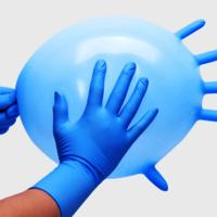 FDA Disposable Medical Nitrile Gloves CE