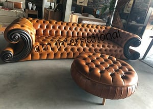 Leather Sofa Sett