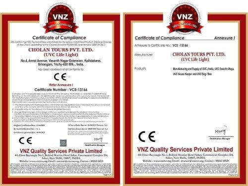 UVC Disinfectant Lite