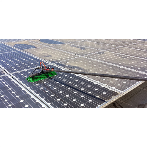 Solar Project Cleaning Service