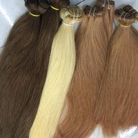 !!!!! WONDERFUL !!!!! STRAIGHT COLORED HUMAN HAIR EXTENSIONS !!!!