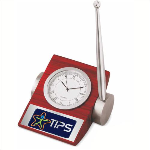 Desktop Paper Weight Cum Clock
