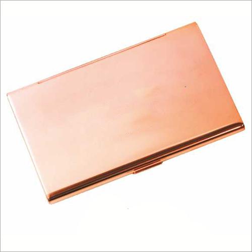 Rose Gold Finish Card Holder