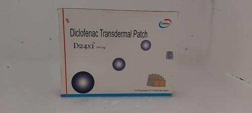 D24x1 - Diclofenac Transdermal Patch