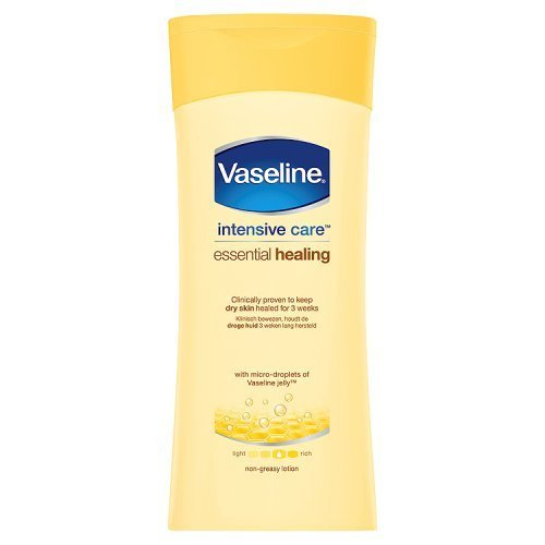 Vaseline Intensive Care Essential Healing Dry Skin Body Lotion 200ml