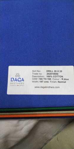 20 x 20 Drill Fabric