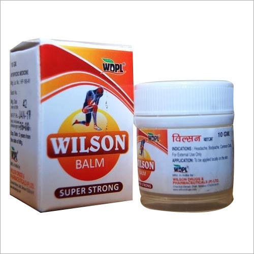 Wilson Ayurvedic Pain Balm