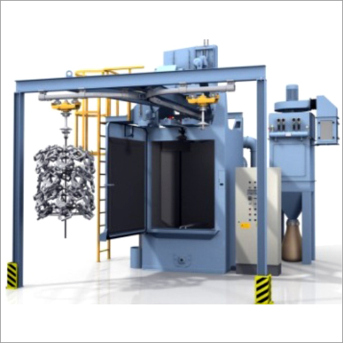 Spinner Type Shot Blasting Machine