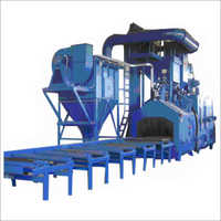 4 Wheel Shot Blasting Machine
