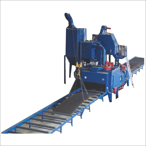 Plate Cleaning Shot Blasting Machine