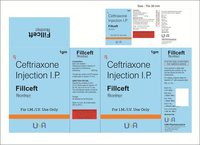 Fillceft 1gm (Ceftriaxone Inj.)