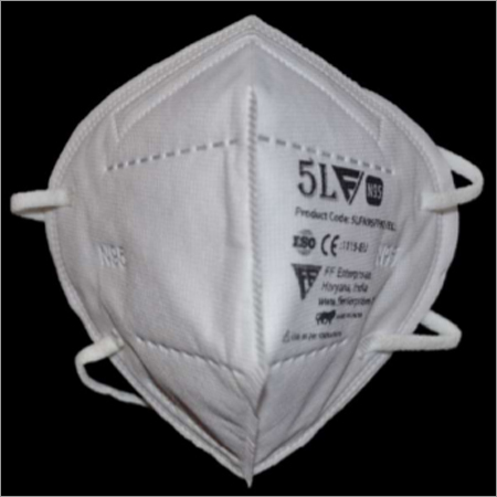 Five Layer N95 Respirator Face Mask