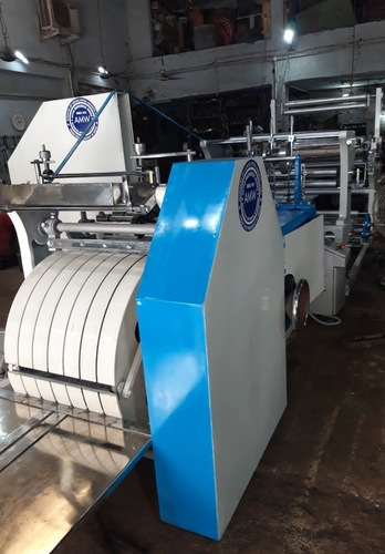 Paper Bag Making Machine With One Colour Printing