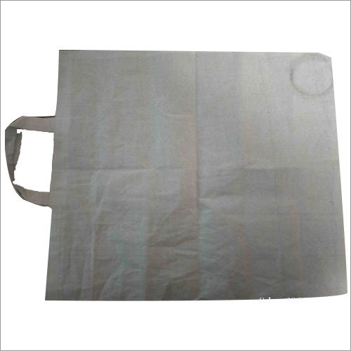 Off White Carry Bag Fabric