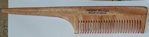 Handle Neem Wooden Comb