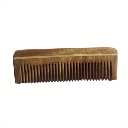 Pocket Neem Wooden Comb