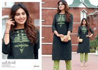 Radhey Vol-2 Cotton Kurti Set