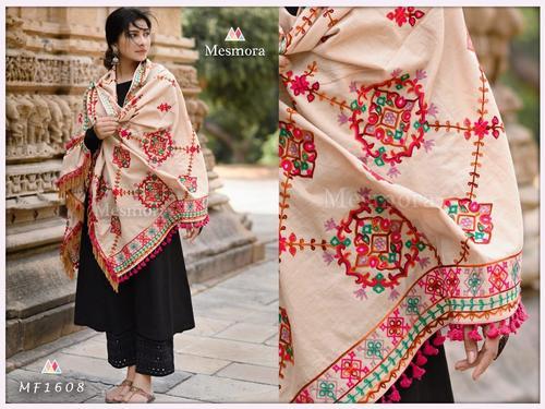Jassi Designer Wholesale Cotton Handwork Dupatta