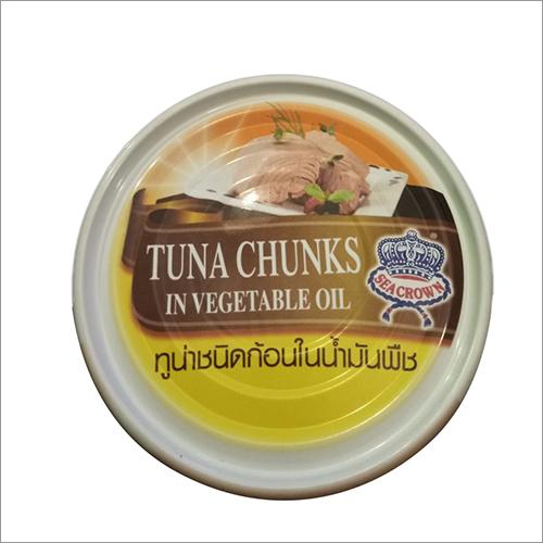Frozen Tuna Chunks in Vegetable Oil