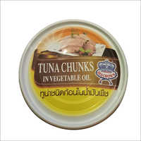 Frozen Tuna Chunks in Vegetable Oil