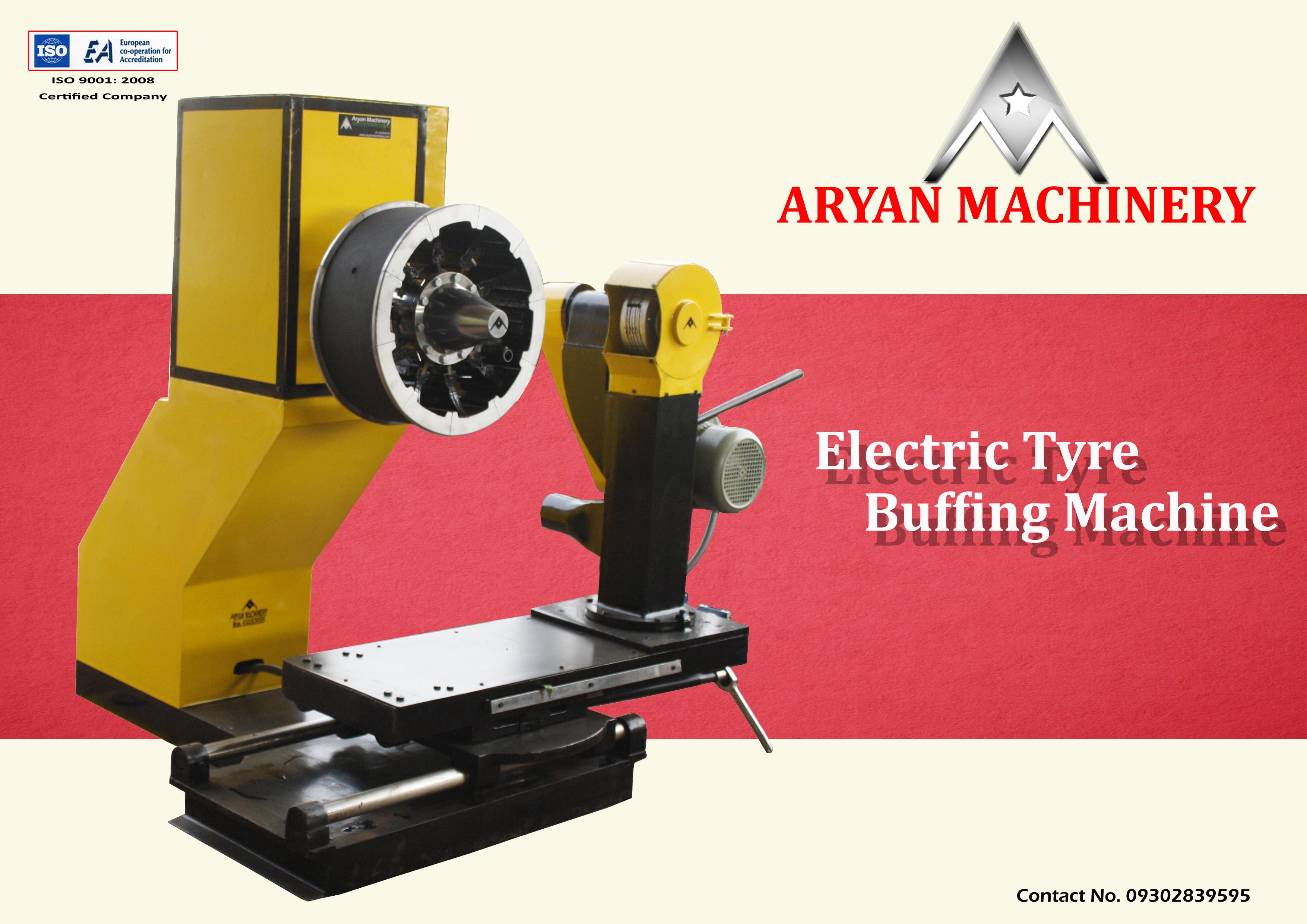 Tyre Buffing Machine