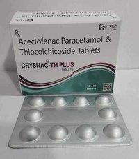 Aceclofenac  Thicolchicoside  Tab