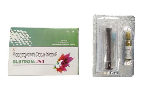 Glutron 250 Hydroxyprogesterone Caproate Injection Ip