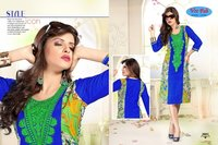 Shopping Season Designer Cotton Printed Kurti