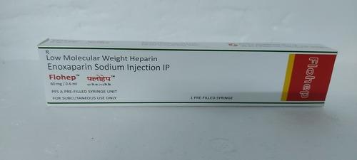 Flohep - Enoxaparin Sodium Injection Ip 60mg/0.6ml