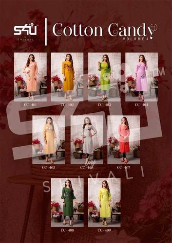 Cotton Candy Vol 4 Designer Kurti Catalogue