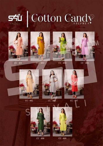 Cotton Candy Vol 4 Designer Kurti Catalogue