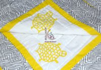Cotton Quilt Hand Block Printed Jaipuri Razai Natural Bedspread