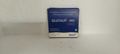Glutaup-md - L-glutathione, L-cysteine, Vitamin C & Selenium Yeast Lozenges