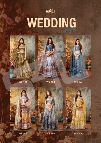 WEDDING SAGA Designer Choli