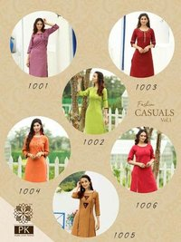 Fashion Casuals VOl-1 Rayon kurti Set