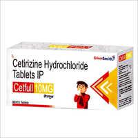 Cetirizine Hydrochloride Tablets IP