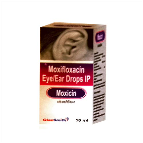Moxifloxacin Eye and Ear Drops IP