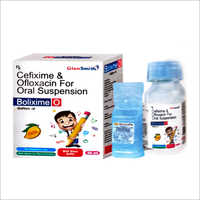 Cefixime And Ofloxacin For Oral Suspension