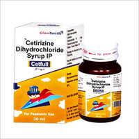 Cetirizine Dihydrochloride Syrup IP