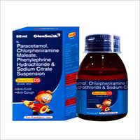 Paracetamol Chlorphenoramine Maleate Phenylephrine Hydrochloride And Sodium Citrate Syrup